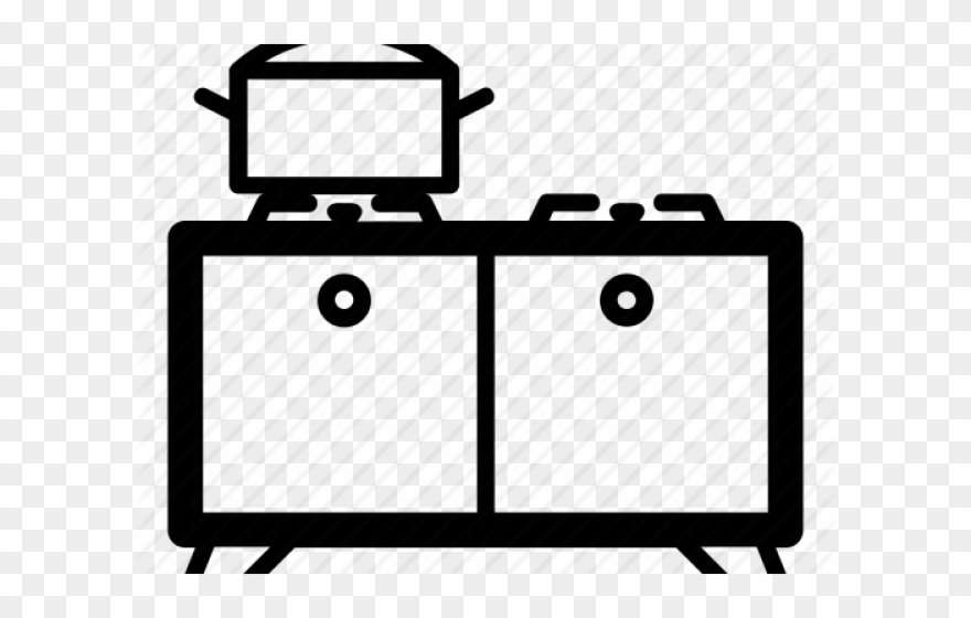 Stove burner chemistry clipart banner black and white library Gas Stove Clipart (#133435) - PinClipart banner black and white library