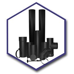 Stove pipe clipart image freeuse library Wood Stove Flue Pipe : Premium Matt Vitreous Enamel ... image freeuse library