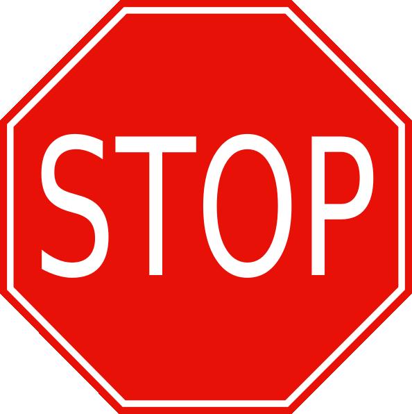 Stp clipart png transparent download Stop Sign Clip Art at Clker.com - vector clip art online ... png transparent download