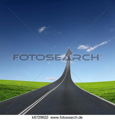 Strae von oben clipart image freeuse Clip Art - landstraße, straße, gehen oben k6729622 - Suche Clipart ... image freeuse