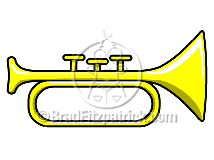 Straight bugle horn clipart clip art library download Trumpets Art | Free download best Trumpets Art on ClipArtMag.com clip art library download
