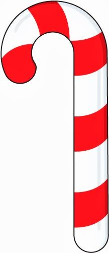 Straight candy cane clipart image black and white Candy Cane Images Clipart   Free download best Candy Cane ... image black and white