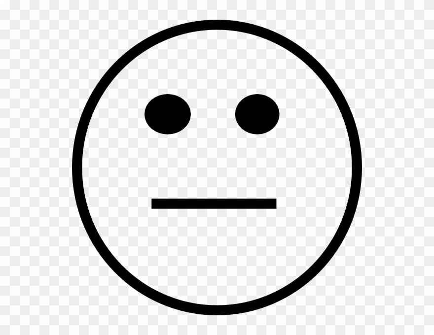 Straight face clipart png transparent Clipart Info - Black And White Straight Face - Png Download ... png transparent