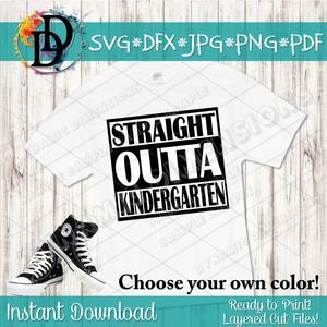 Straight outta preschool clipart jpg library library Straight Outta Kindergarten SVG, kindergarten svg, Straight Out Of  Kindergarten Svg, Kindergarten SVG, Kids SVG, Silhouette Files, Cricut jpg library library