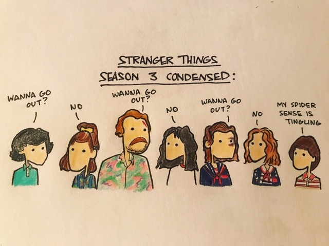 Stranger things 3 quotes clipart picture transparent download stranger things season 3 | Tumblr picture transparent download