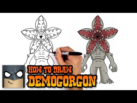 Stranger things demogorgon clipart picture transparent download How to Draw Demogorgon | Stranger Things (Art Tutorial ... picture transparent download