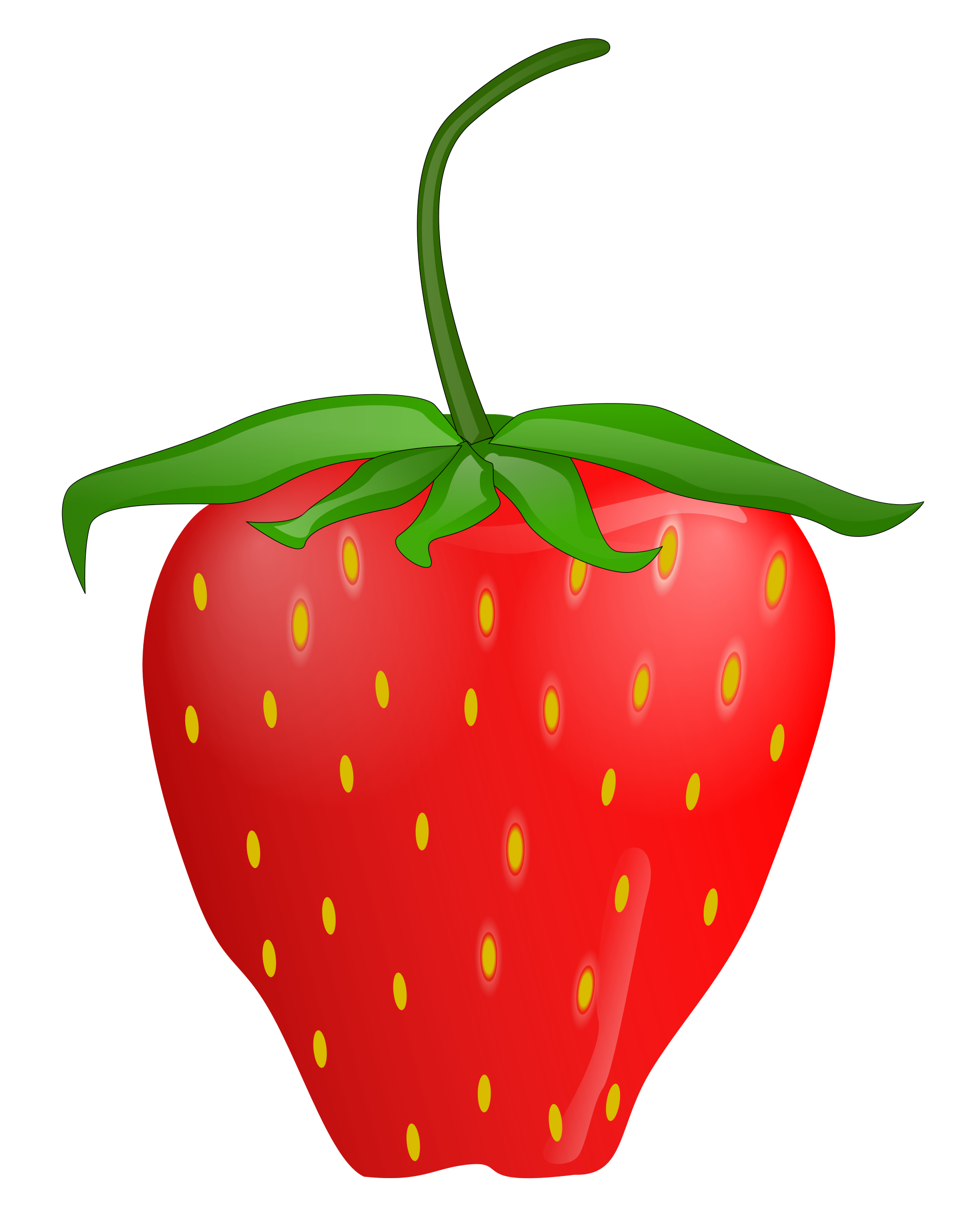 Strawberry flower clipart picture free Strawberry Clip Art Free | Clipart Panda - Free Clipart Images picture free