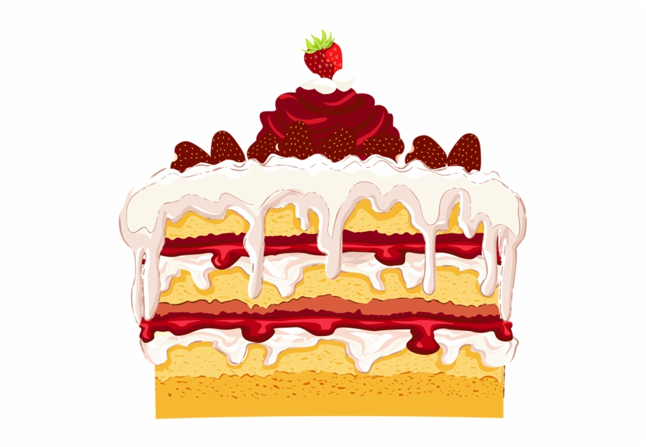 Strawberry cake clipart svg free download Strawberry Cake Png Clipart - Strawberry Cake Clipart Free ... svg free download