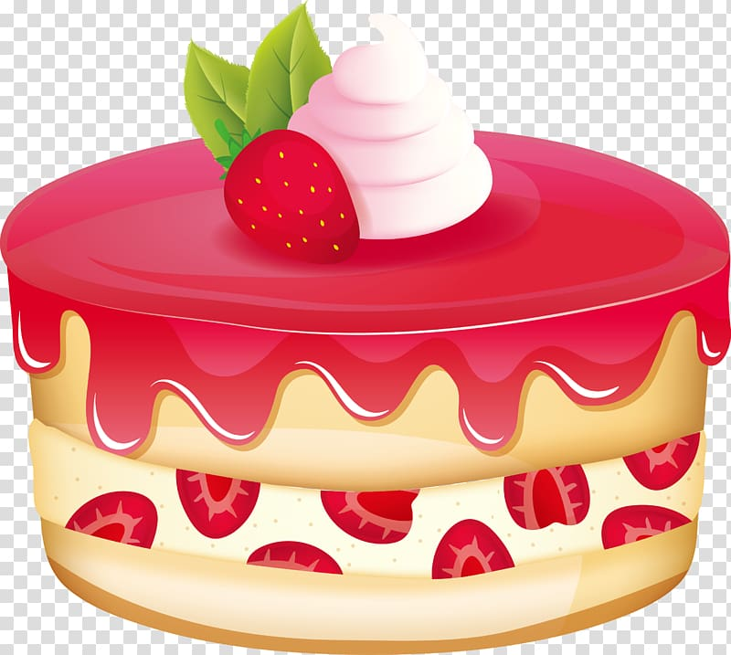 Strawberry cake clipart image black and white download Strawberry Shortcake Bxe1nh Pudding, Strawberry jam Pudding ... image black and white download