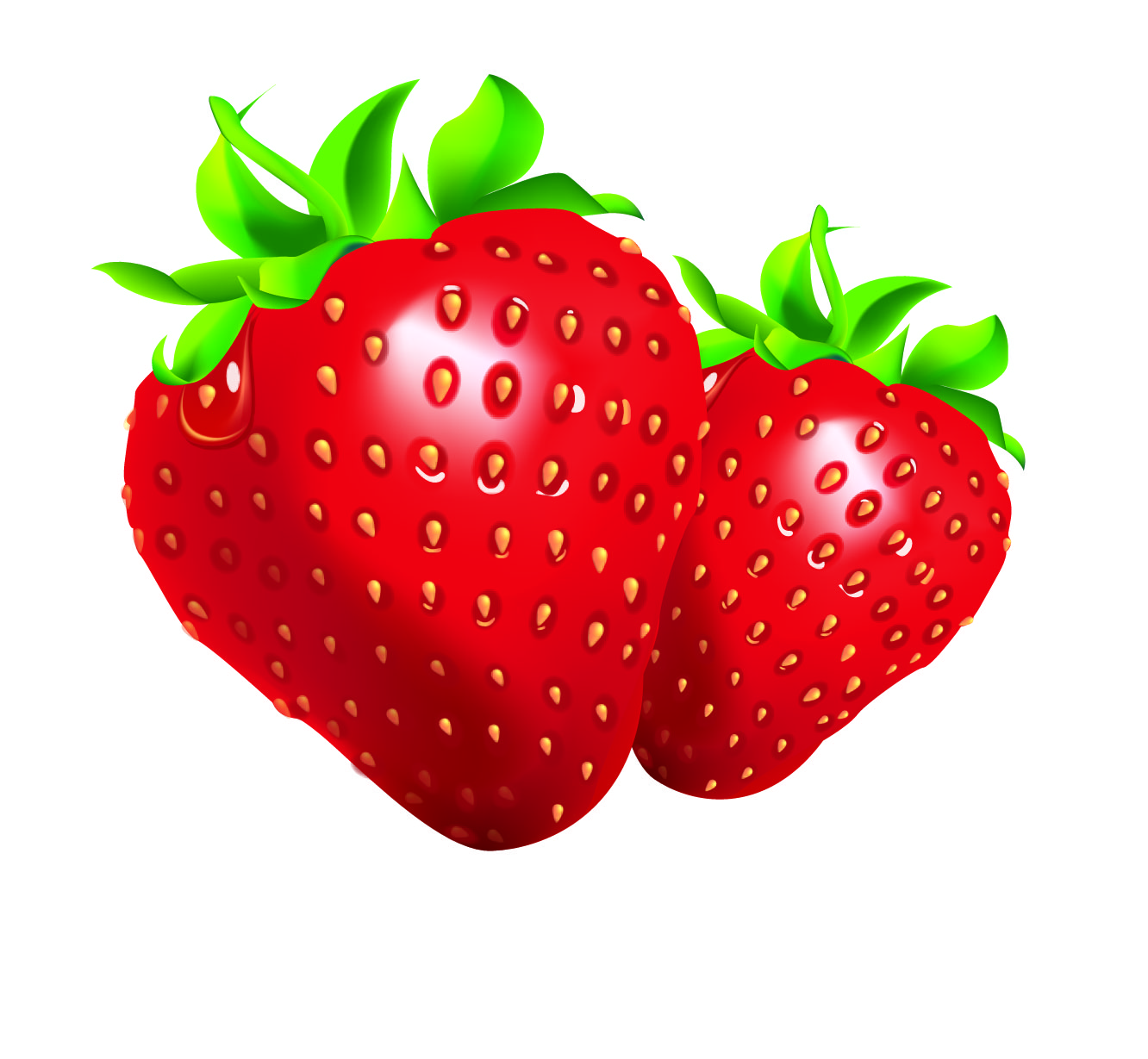 Strawberry clipart pictures image freeuse stock Strawberry clipart clip art of 9 clipartwork - Clipartix image freeuse stock