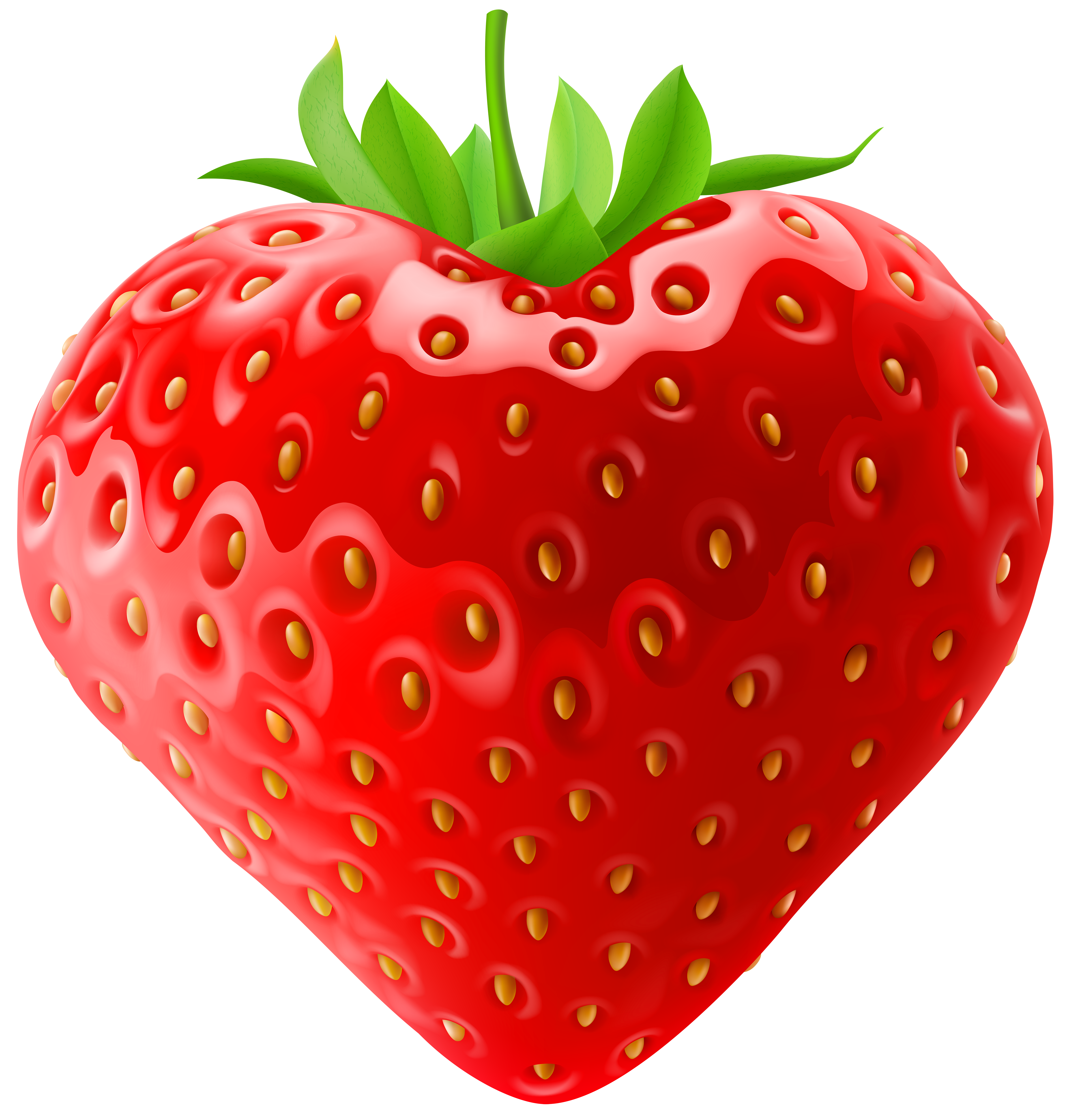 Strawberry heart clipart svg free library Strawberry PNG Clip Art | Gallery Yopriceville - High-Quality ... svg free library