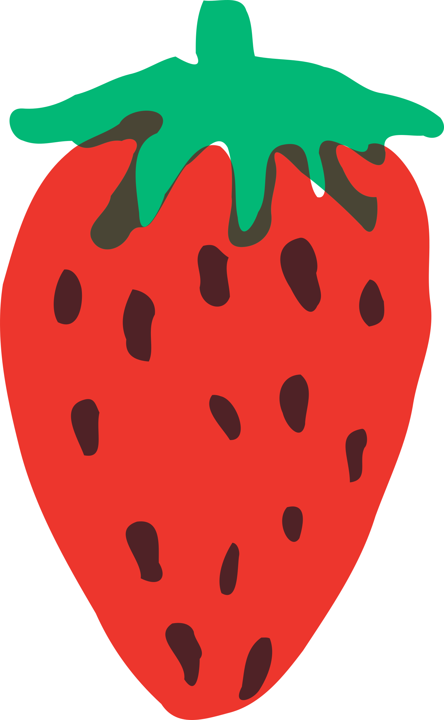 Strawberry heart clipart png free Clipart - strawberry png free