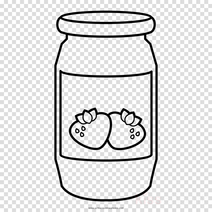 Strawberry jam clipart black and white no copyright transparent stock Book Black And White clipart - Drawing, Strawberry, White ... transparent stock