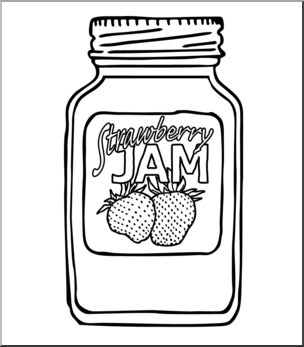 Strawberry jam clipart black and white no copyright image library download Jam Clipart | Free download best Jam Clipart on ClipArtMag.com image library download