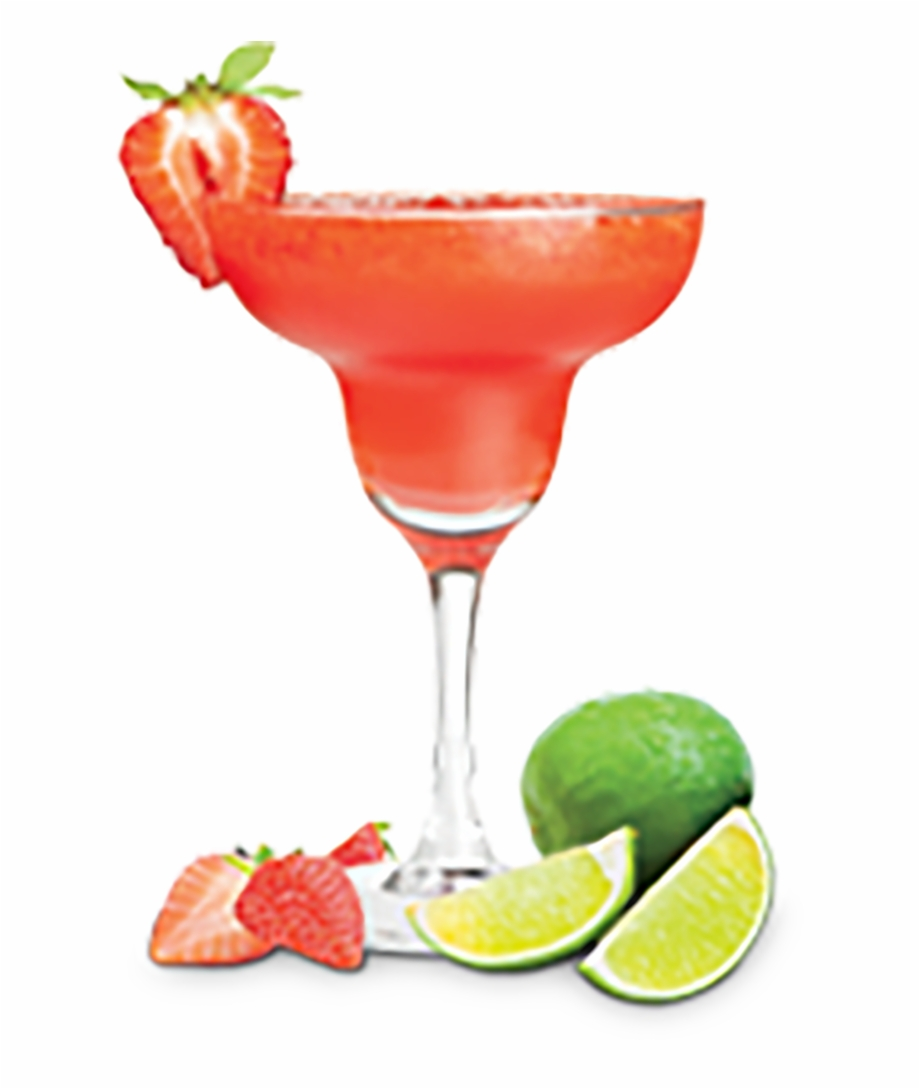 Library of strawberry margarita vector library stock png ...
