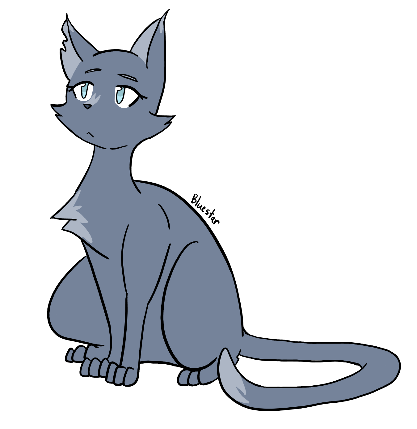Warrior cat clipart vector transparent download Drawing ALL Warrior Cats Challenge - (Latest: Ravenpaw) | Warrior ... vector transparent download