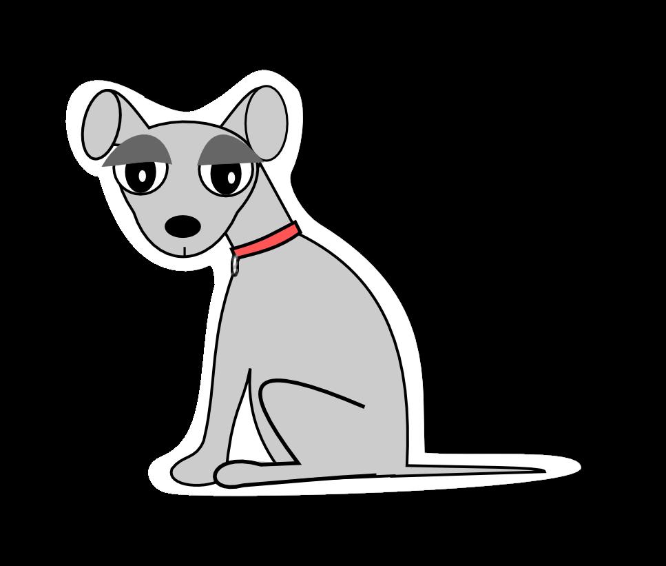 Stray dog clipart png free download free digital dog scrapbooking embellishment – scrap dog png – Hunde ... png free download