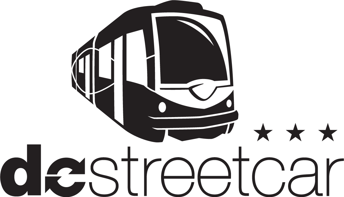 Street car clipart jpg black and white download Media Information and Logos | DC Streetcar jpg black and white download