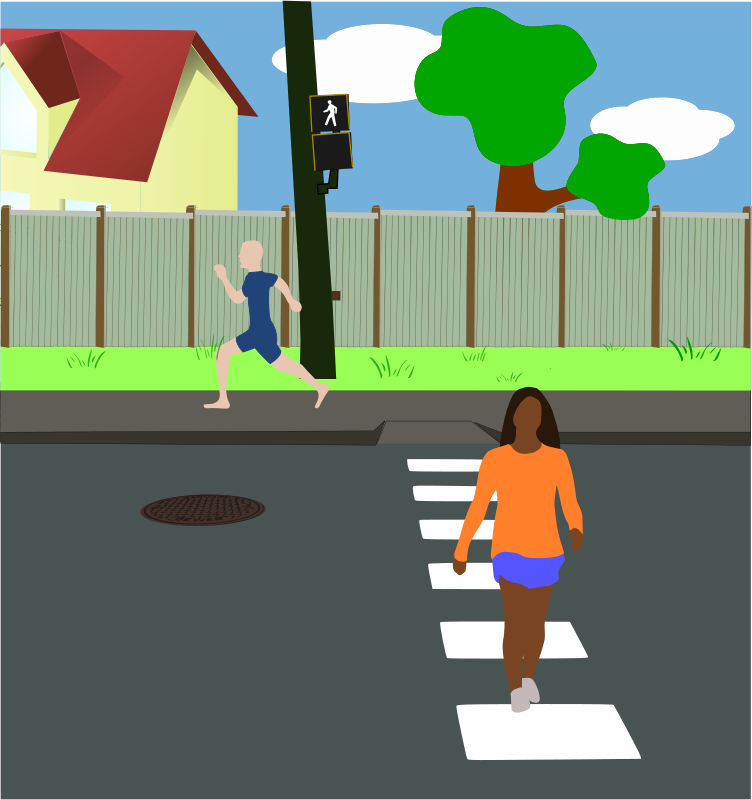 Street clipart png freeuse stock Free Clipart: Neighborhood Street | mazeo png freeuse stock