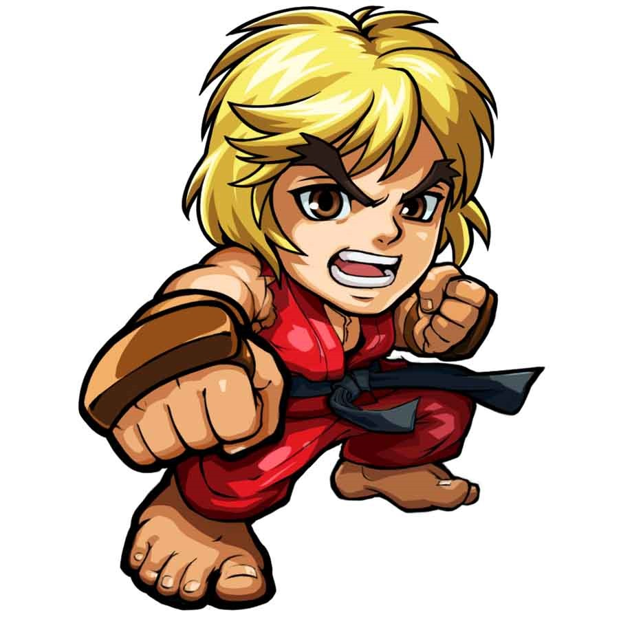 Streetfighter clipart free