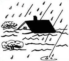 Street flooding clipart free black white png black and white Flood Clip Art & Look At Clip Art Images - ClipartLook png black and white