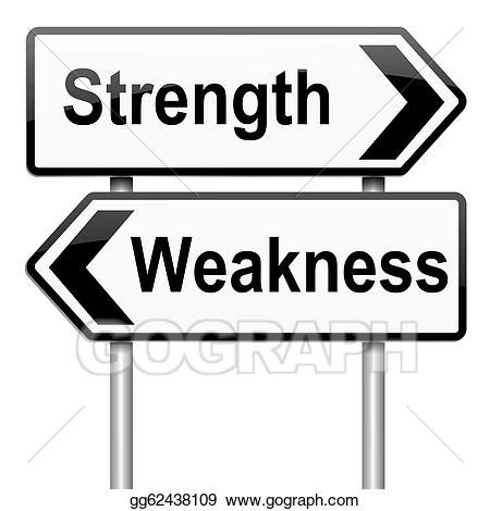Strenghts clipart clip art transparent library Drawing - Strengths or weakness concept. Clipart Drawing ... clip art transparent library