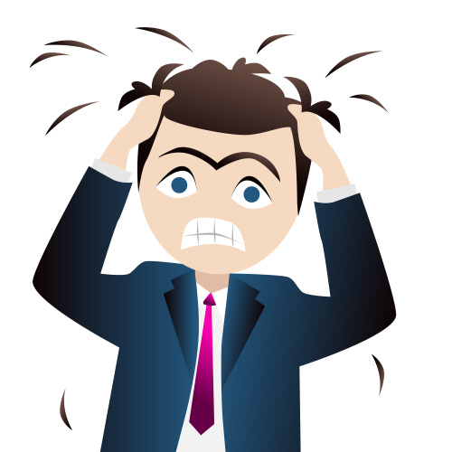 Stressed face clipart freeuse Funny Stressful Clip Art | LoveToKnow freeuse