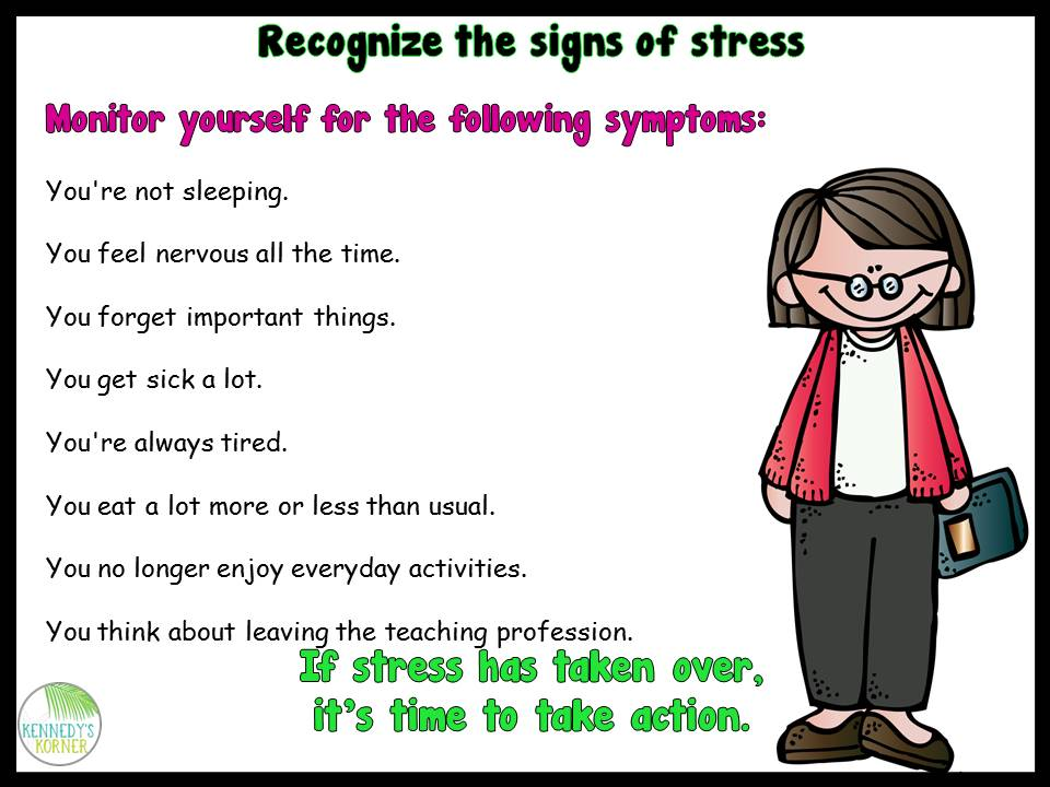 Stressed out teacher clipart clip black and white download The Primary Pack: How to Handle Back to School Stress clip black and white download
