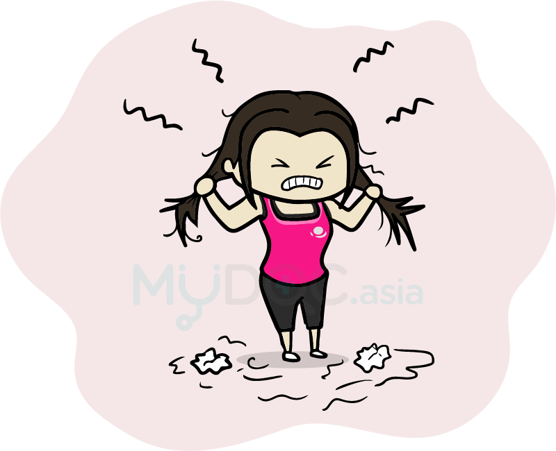 Stressed turkey clipart svg transparent library Am I Getting Old or Is Something Else Causing My Hair Loss? | MyDoc Asia svg transparent library