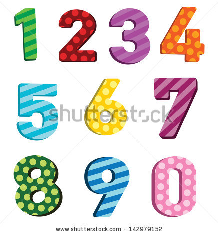 Striped number 1 clipart jpg transparent library Striped number 1 clipart - ClipartFest jpg transparent library
