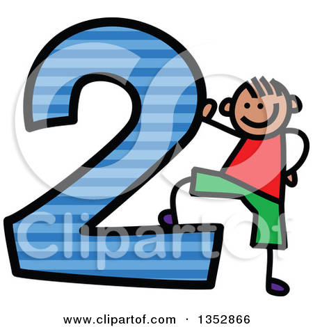 Striped number 1 clipart clip art library library Royalty-Free (RF) Number Clipart, Illustrations, Vector Graphics #2 clip art library library