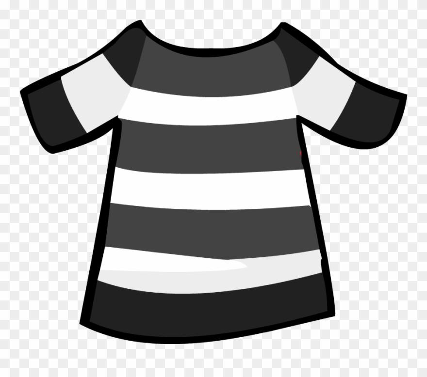 Striped shirt clipart