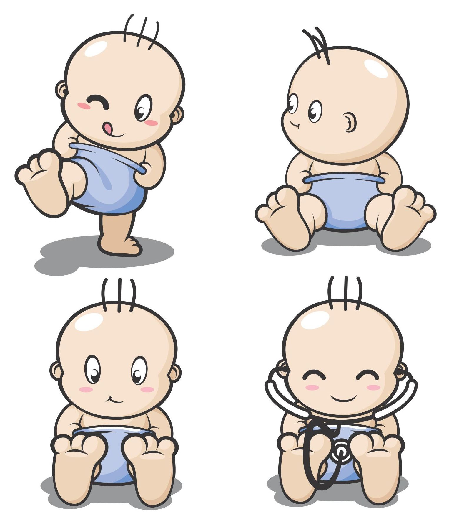 Strong baby clipart svg transparent Free Cartoon Pics Of Babies, Download Free Clip Art, Free ... svg transparent