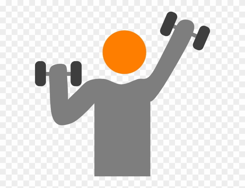 Strong lifting gym kids clipart no background