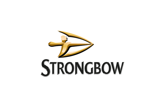 Strongbow logo clipart picture royalty free stock Strongbow Logo – Greenacre foods picture royalty free stock