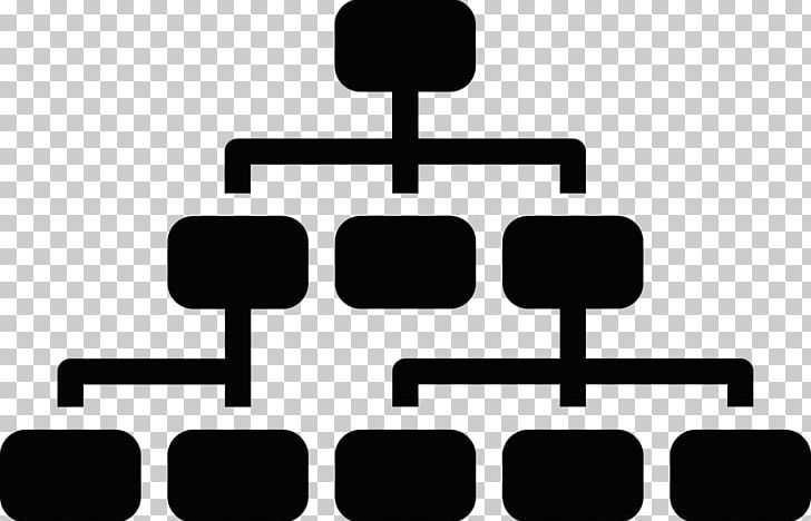Structure clipart black and white image free stock Hierarchical Organization Organizational Structure Computer ... image free stock