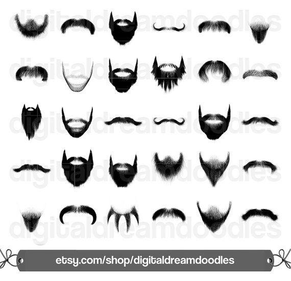 Stubble clipart png freeuse Beard Clipart, Beard Clip Art, Moustache Clipart, Mustache ... png freeuse