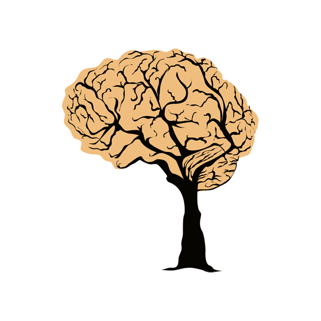 Stuck brain clipart svg library stock brain as tree | Brain graphics in 2019 | Brain tattoo ... svg library stock