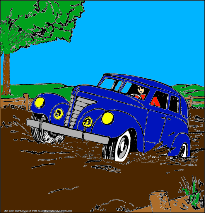 Stuck in the mud clipart graphic stock Classic Car Stuck In The Mud by MEGAREYES on DeviantArt graphic stock