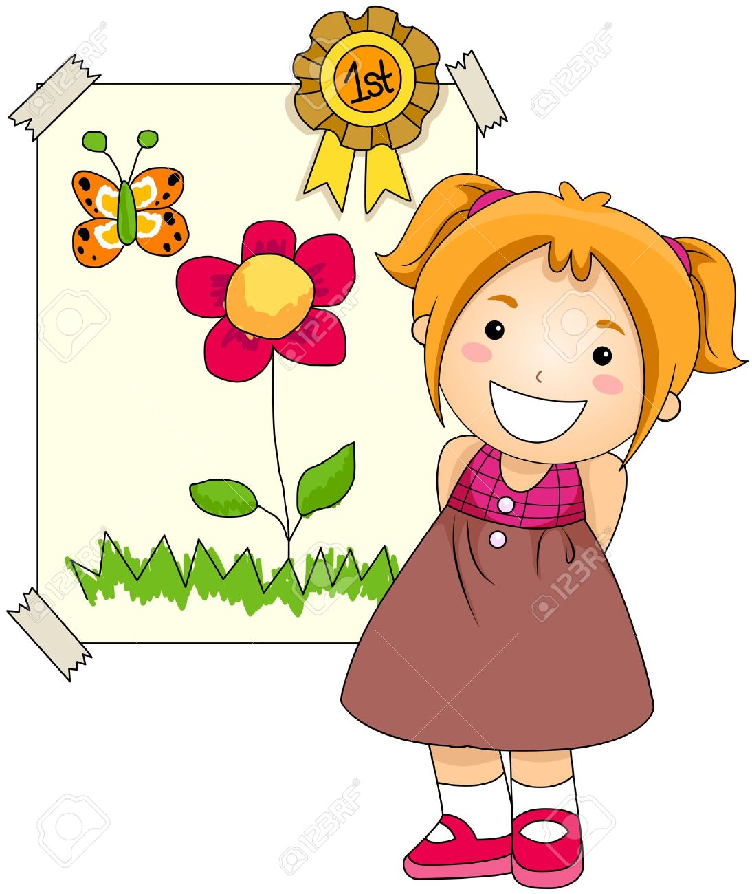 Student artwork clipart picture royalty free Student artwork clipart - ClipartFest picture royalty free