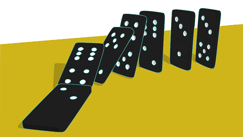 Student clipart domino library Fluency: The Domino Effect - Ann Staman HollingworthAnn ... library