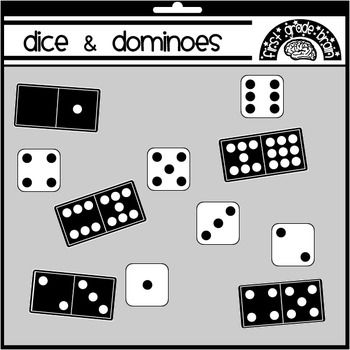 Student clipart domino image transparent library Dice and Dominoes Clipart Graphics FREE | Clip Art - Math ... image transparent library