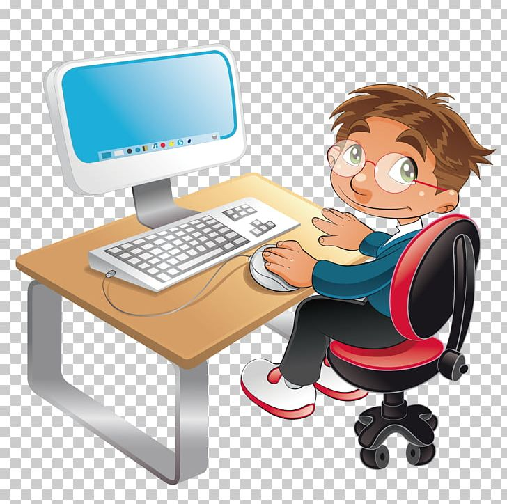 Student computer clipart image library download Student Computer Cartoon PNG, Clipart, Boy, Boy Cartoon, Boy ... image library download