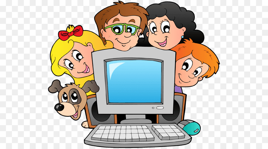 Student computer clipart royalty free School Child png download - 585*500 - Free Transparent ... royalty free