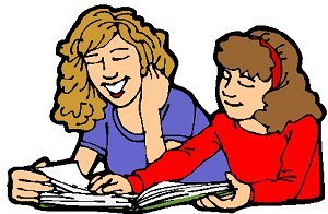 Student helping clipart