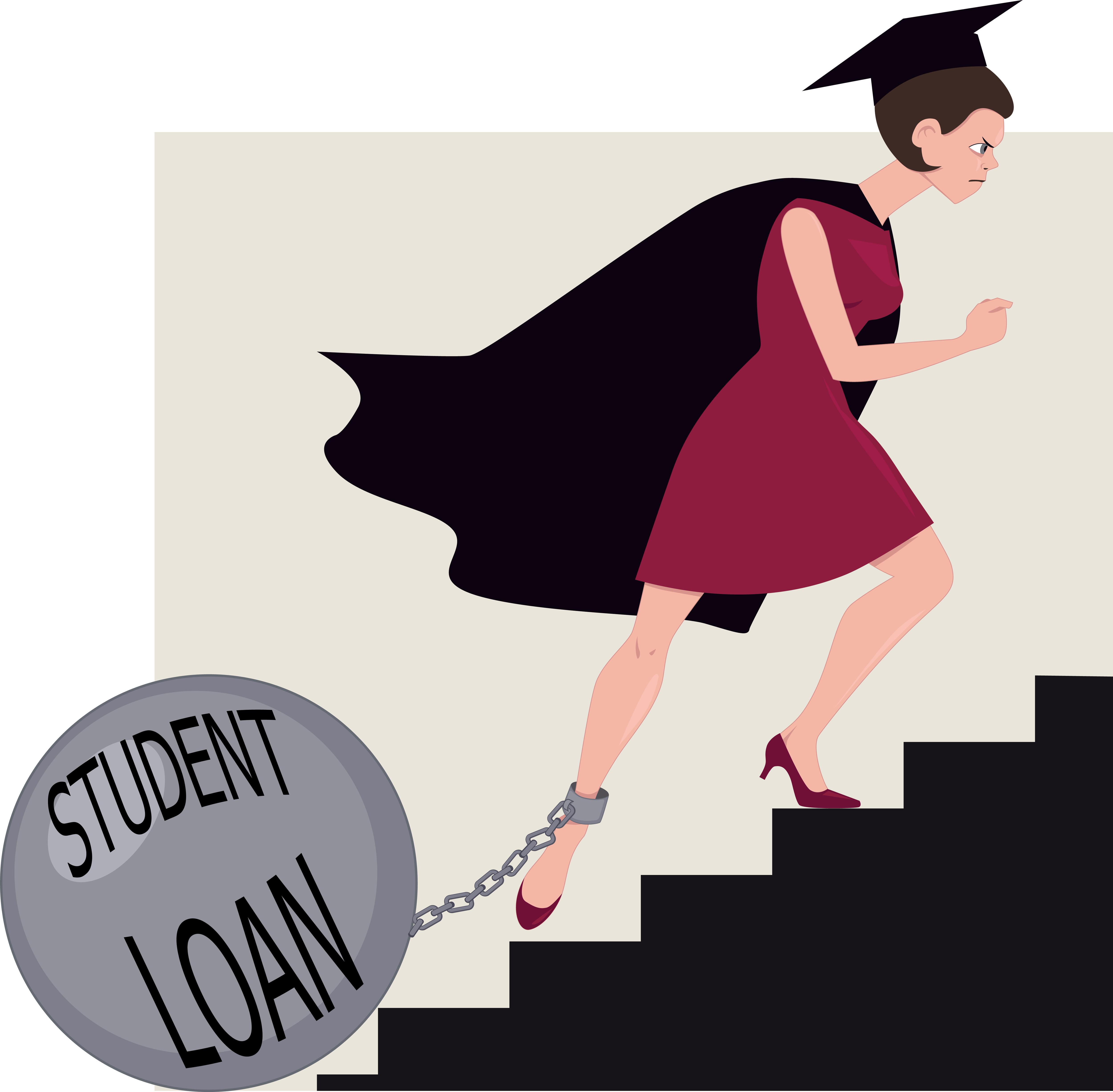 Student loan paid clipart svg download Survey: Student loan assistance helps lower employee stress ... svg download