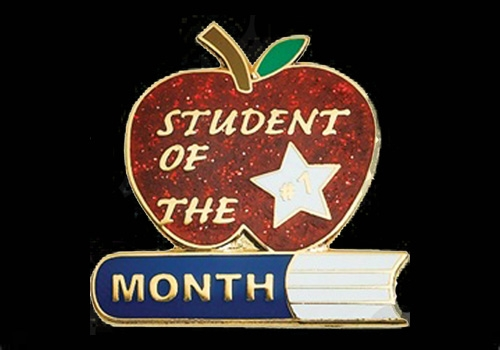 Student of the month clip art jpg black and white stock Student Of The Month Clipart - clipartsgram.com jpg black and white stock