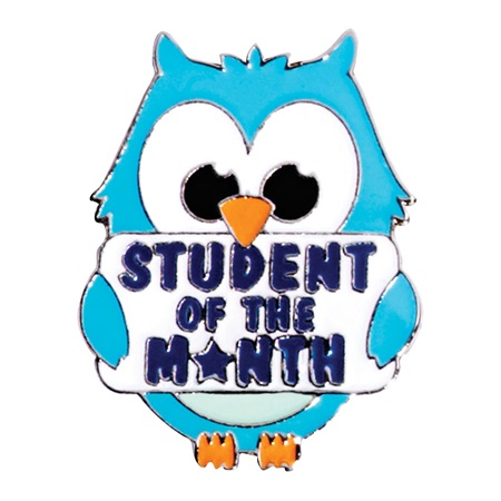 Student of the month clipart picture download Award Pin - Student of the Month Owl   Anderson's picture download