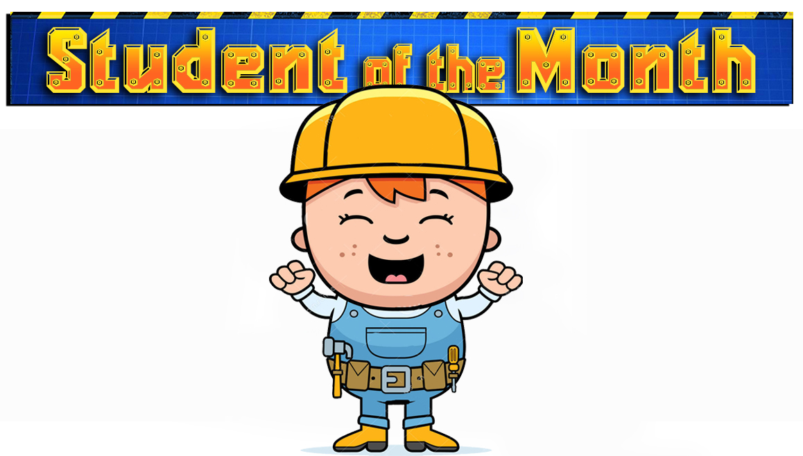 Student of the month clipart clip black and white download Kensington Park Elementary clip black and white download