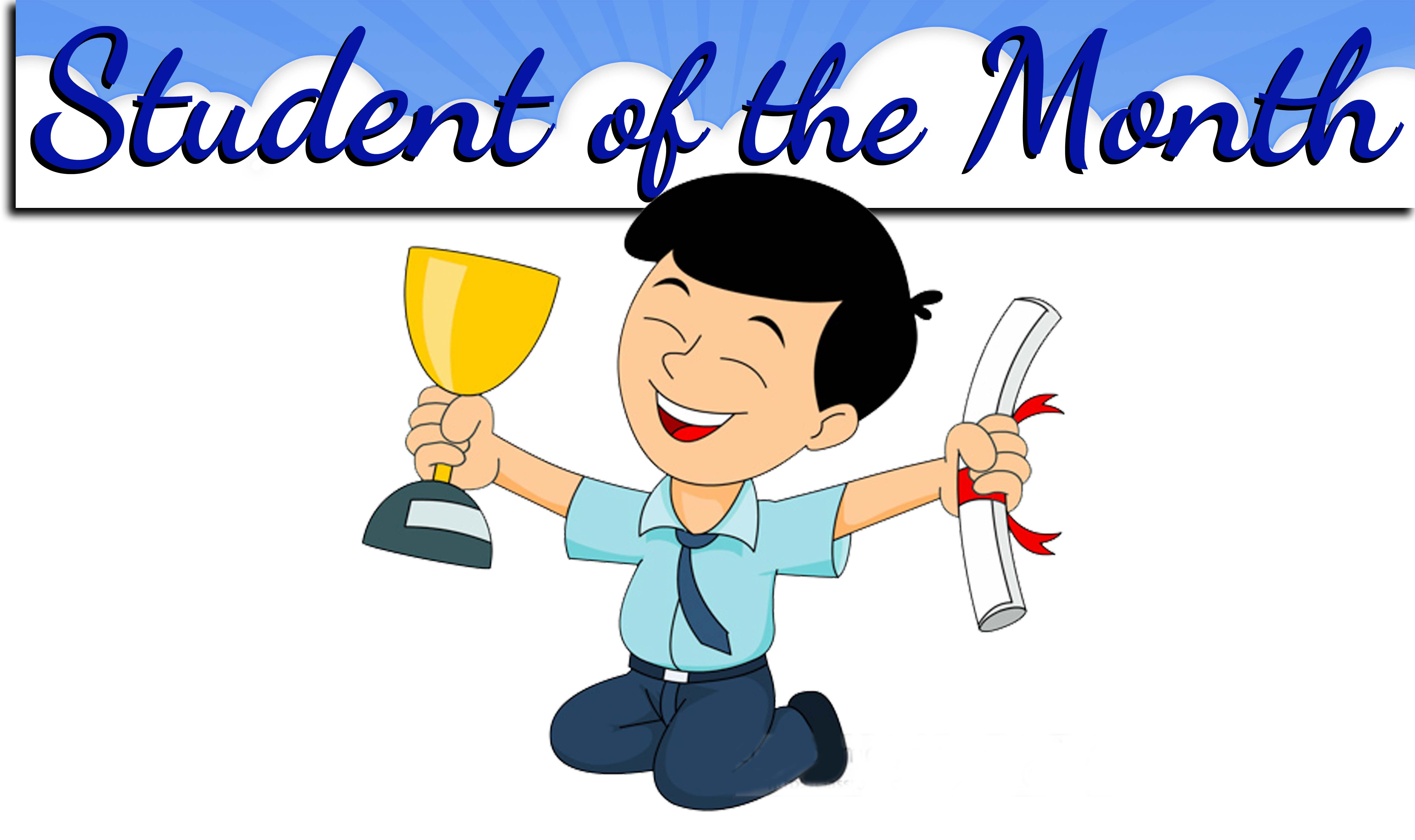 Student of the month clipart freeuse stock Student of the Month   Richmond Heights Middle freeuse stock